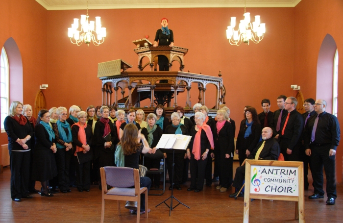 Antrim Community Choir at Hillsborough Fort