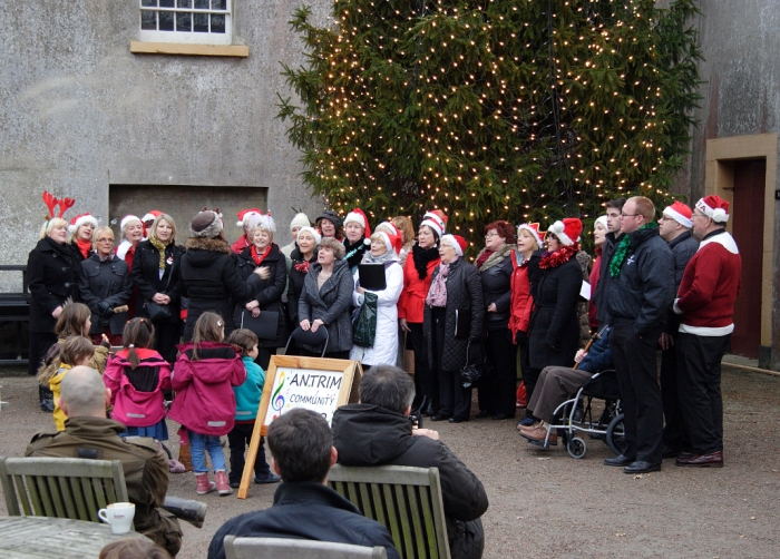 Antrim Community Choir at Castle Ward Estate