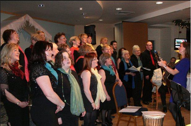 Antrim Comm Choir at Massereene